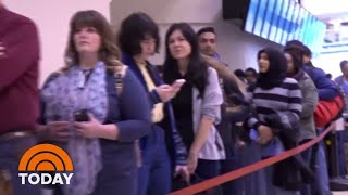 Government Shutdown Leads To Massive Airport Security Lines   TODAY