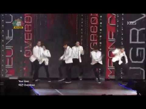 [HIT] 뮤직뱅크 인 멕시코(MusicBank in Mexico)-EXO-K - 중독(Overdose).20141112
