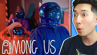 AMONG US in REAL LIFE 2! - Among Us But It's a Reality Show 2 Reaction