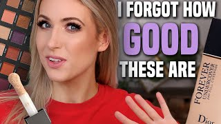 TESTING MAKEUP FAVORITES I FORGOT ABOUT... What's Garbage & What's GOLD??