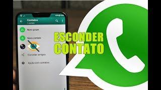 TRUQUE! Como ESCONDER (OCULTAR) um CONTATO do WhatsApp [Sem instalar nada]