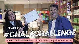 #ChalkChallenge: Juliana and Richard Gomez Test How Well They Know Each Other