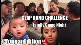 SLAP HAND CHALLENGE || Family Game  Night