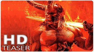 HELLBOY Official First Look (2019) New Hellboy Reboot, David Harbour Superhero Movie HD