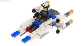 LEGO Star Wars Microfighters U-Wing review! 75160
