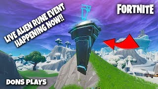 🔴 FORTNITE LIVE ALIEN RUNE EVENT HAPPENING NOW!!!  || 300 LIKE GOAL  || !GIVEAWAY 🔴