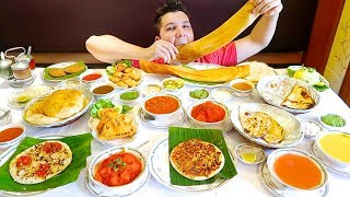 Massive Indian Food Buffet • All You Can Eat • MUKBANG