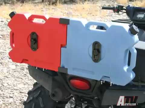 ATV TV Product Review - RotopaX Flat Fuel Packs