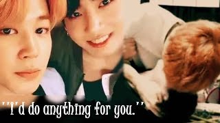 Jungkook would do anything for Jimin?