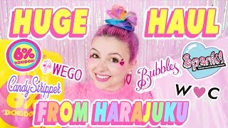 ♡ HUGE HARAJUKU FASHION HAUL ♡
