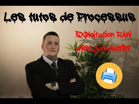 Exploitation du protocole RAW avec Javascript