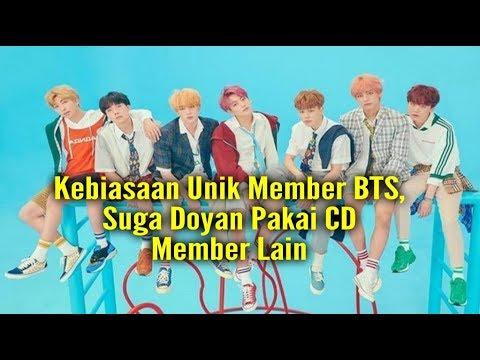 Kebiasaan Unik Member BTS, Suga Doyan Pakai CD Member Lain, Jungkook Paling Berantakan?