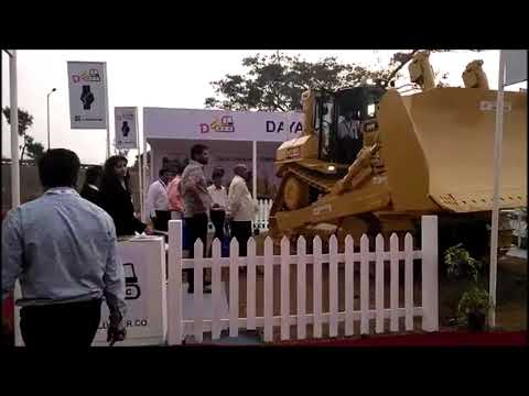HBXG Bulldozer | Excon exhibition demo