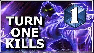 Hearthstone - Best Turn One Kills Ever