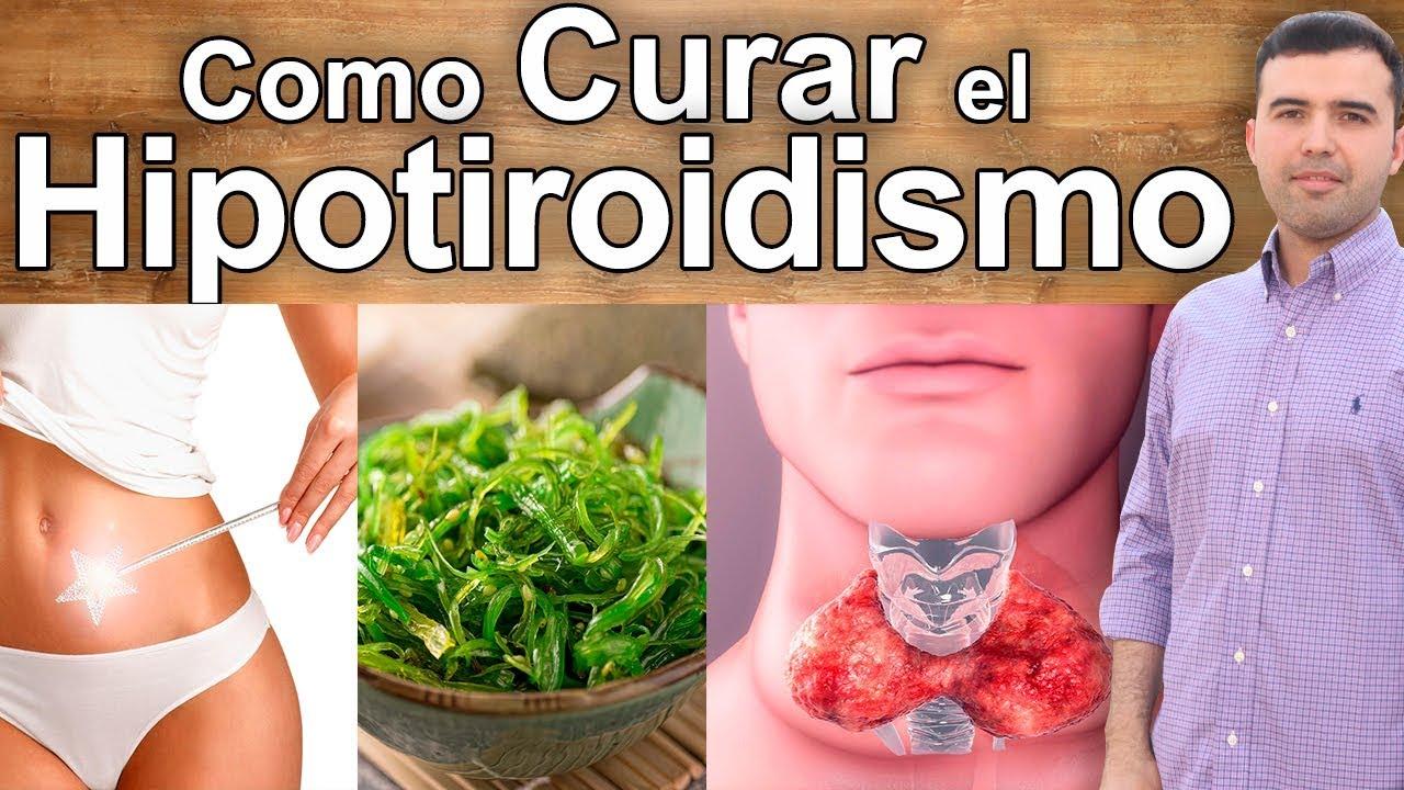 El hipotiroidismo naturalmente curar