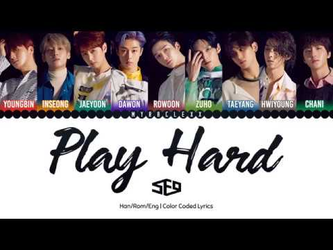 SF9 (에스에프나인) - Play Hard (화끈하게) Lyrics [Color Coded-Han/Rom/Eng]