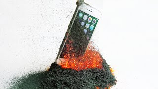 Don't Drop Your iPhone 6S in a Volcano!