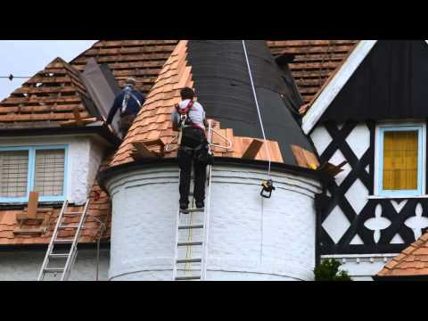 Turret Roof Difficulties - Absolute Roof Solutions - Vancouver
