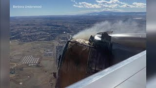 Plane engine failure causes debris to come down on Colorado town