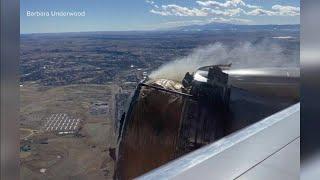 Plane engine failure causes debris to come down on Colorado town