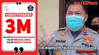 Himbauan Kapolda Bali Terkait 3M