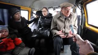 Эксперт из США по транспортным системам  в Омской маршрутке
