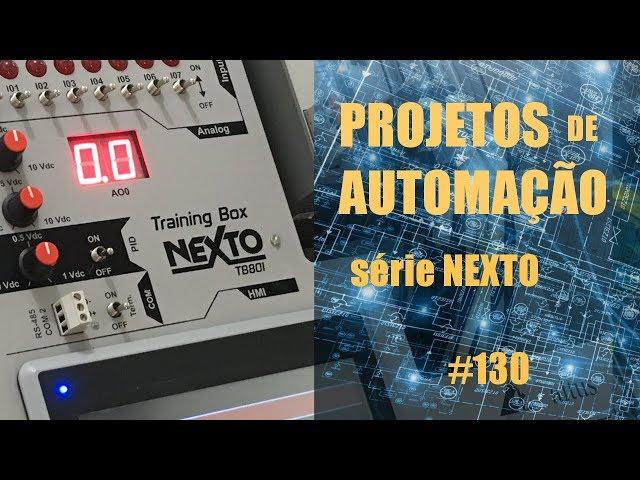 FORNO DE MICROONDAS EMULADO NO CLP NEXTO (p9) | Projetos de Automação #130