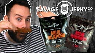 Irish People Try Savage Beef Jerky