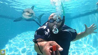 Underwater Breathing Device!!
