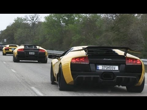 Lamborghini Club Houston - Cruise to Austin