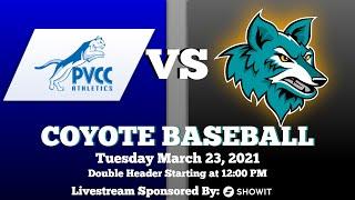 Paradise Valley CC vs. CGCC Baseball 3-23-2021