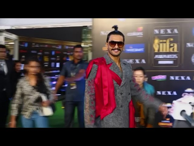 Stars arriive at the IIFA Awards, Bollywoods equivalent of Hollywoods Oscars