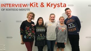 nintendo minute's kit and krysta interview || family games | teachmama.com