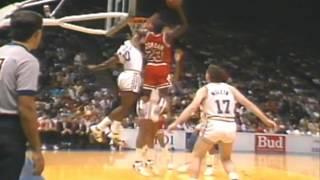 Michael Jordan's Best Dunks by Fan Voting