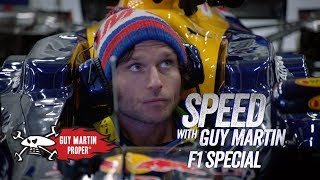 Guy's first time in an F1 car | Guy Martin Proper