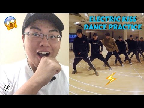 EXO 'Electric Kiss' Dance Practice REACTION (I LOVE THIS SONG)