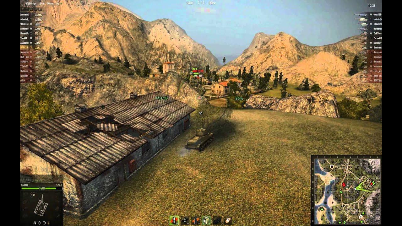Т-50-2 - выживать в Рудниках