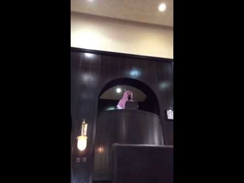 """فيديو.. تغيب الإمام فكان الخطيب """"إمام الحرم المكى"""""""