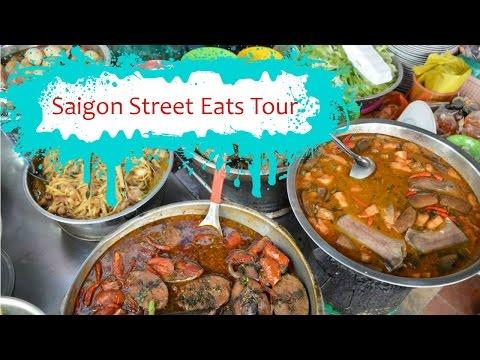 Street food in Vietnam with Saigon Street Eats Tour