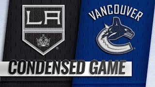 03/28/19 Condensed Game: Kings @ Canucks