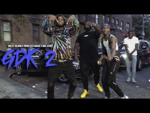 DRIZZY JULIANO X YOUNG COSTAMADO X OMB JAY DEE - GDK PART 2 (OFFICIAL MUSIC VIDEO)