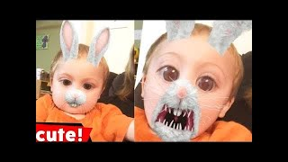 100 Funny Snapchat Videos |  Kids CompilationFunny Chanel