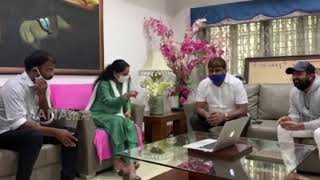 Watch: KTR's special birthday song launched by former MP K..