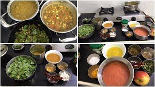 Indraya Samayal/Apple Rasam/Vazhaikkai Kootu/Avaraikkai Pichi Potta Curry