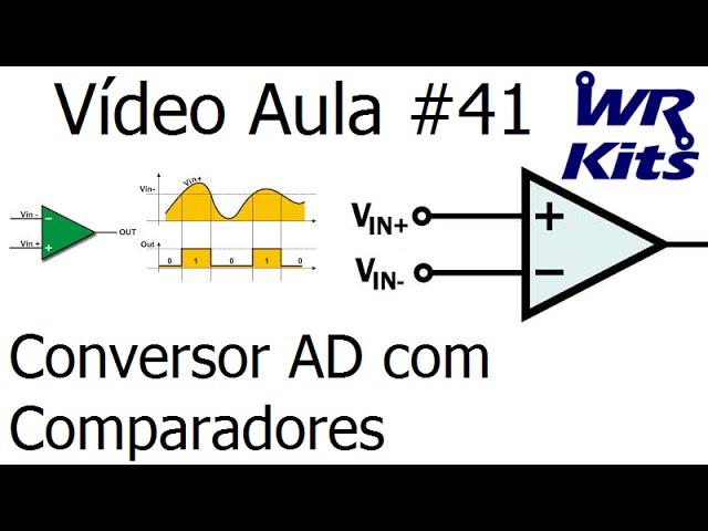 CONVERSOR AD COM COMPARADORES | Vídeo Aula #41