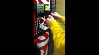 dollar tape vending machine trick