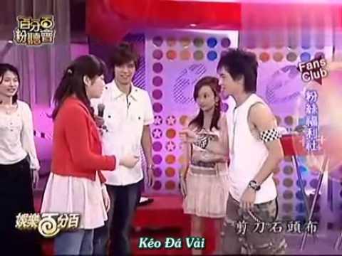 [Vietsub] Lâm Chí Dĩnh giải trí 100% 2006 MC La Chí Tường
