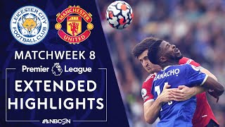 Leicester City v. Manchester United | PREMIER LEAGUE HIGHLIGHTS | 10/16/2021 | NBC Sports
