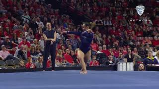 2019 Pac-12 Women's Gymnastics Championship: UCLA's Katelyn Ohashi unveils new floor routine with...