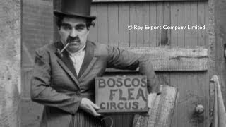 Charlie Chaplin As Professor Bosco - Rare Footage From The Professor (abandoned Film)